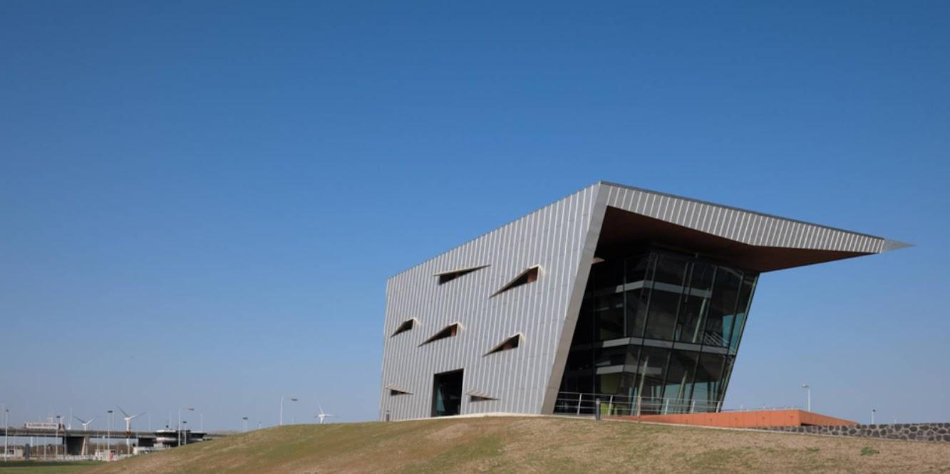 4797 Willemstad Paesi Bassi Control Building Volkerak