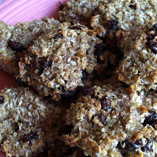 Flourless Whole Grain Banana Raisin Cookies.