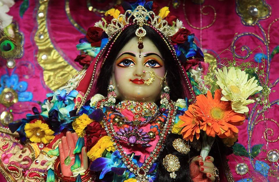 ISKCON Delhi Deity Darshan 08 Jan 2017 (2)