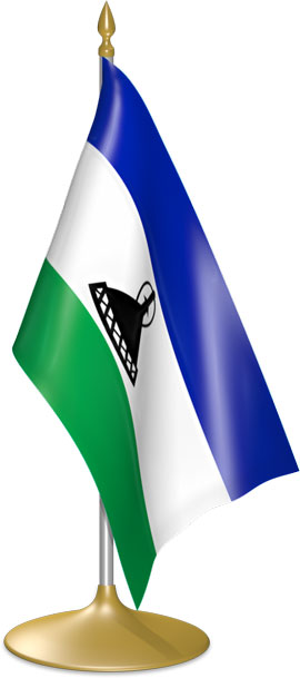 Basotho table flags - desk flags