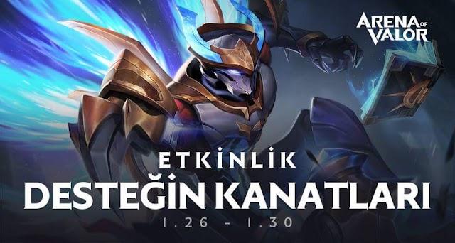 Arena Of Valor Yeni Kahraman Xeniel İçin Etkinlik