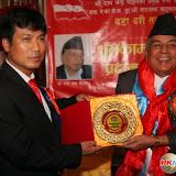 दशै तिहार कार्यक्रममा नेपाली कांग्रेसका उप सभापति राम चन्द्र पौडेल