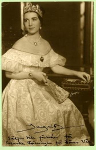 Princesa Ingrid de Suecia (hija de Margaret), más tarde reina de Dinamarca