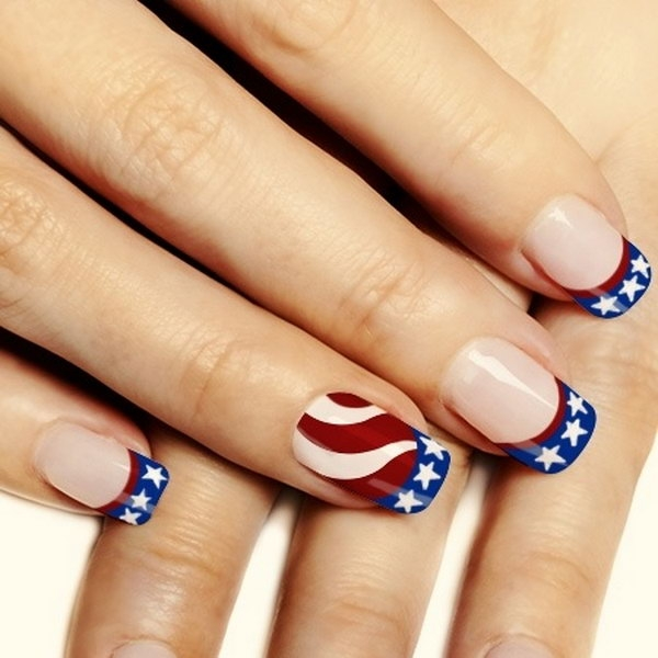 New Subtle Stripes Nail Art Designs 2016 | Fashionte