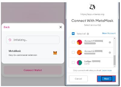 Menghubungkan Dompet MetaMask