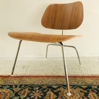 Herman Miller + Eames Molded Plywood Lounge Chair