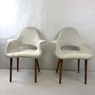 Pair of Mid-Century Modern Armchairs #2