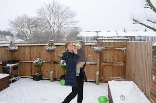 Natalia - Na Sniegu z mama.