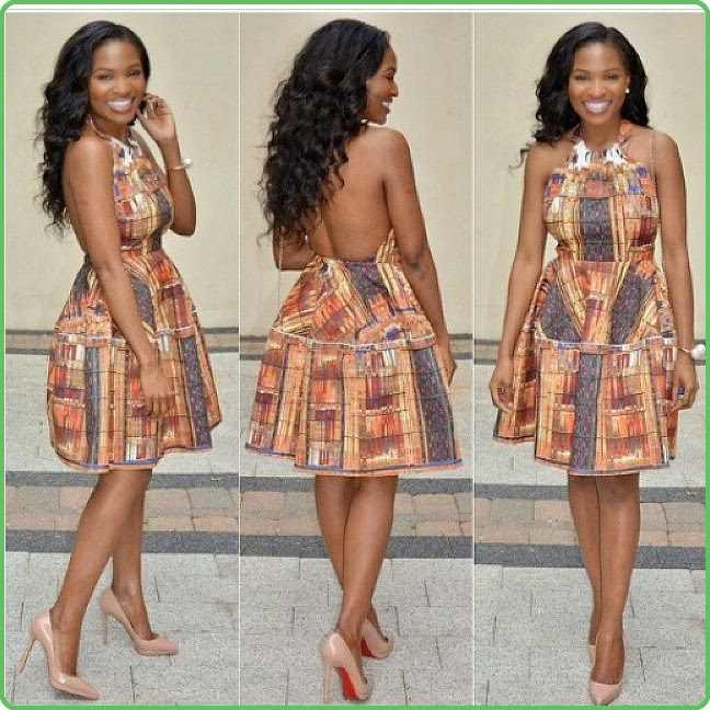 cutest ankara ideas short gown 2016