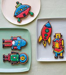 Gingerbread Robots
