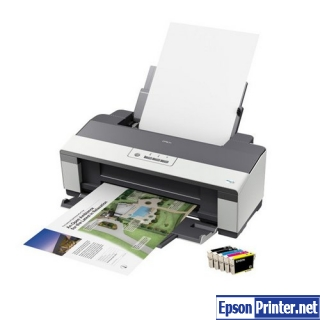 How to reset Epson B1110 printer