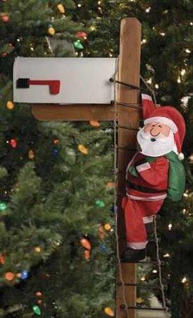 Santa Claus Mailbox Cover