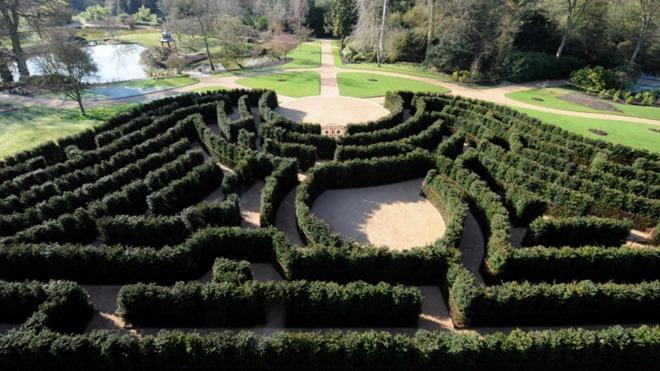 Cliveden maze