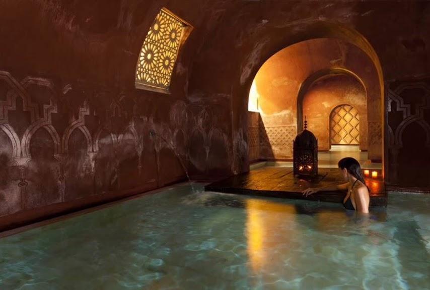 Sala templada baño árabe