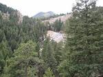 Looking towards Spoon Falls (aka Death Trap falls)