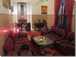 Riad lounge