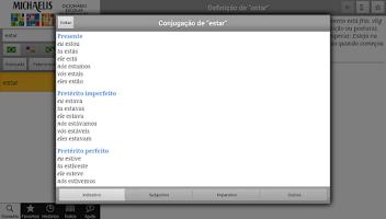 Screenshot of Michaelis Escolar 3 Línguas