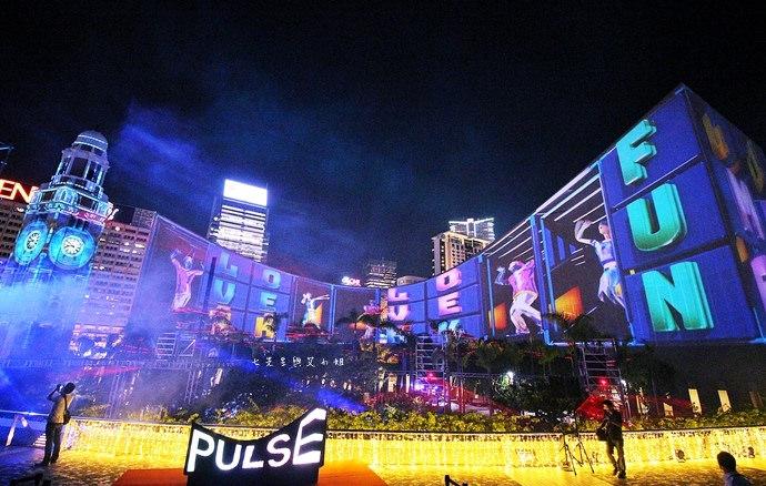 19 香港 閃躍維港 3D光雕匯演