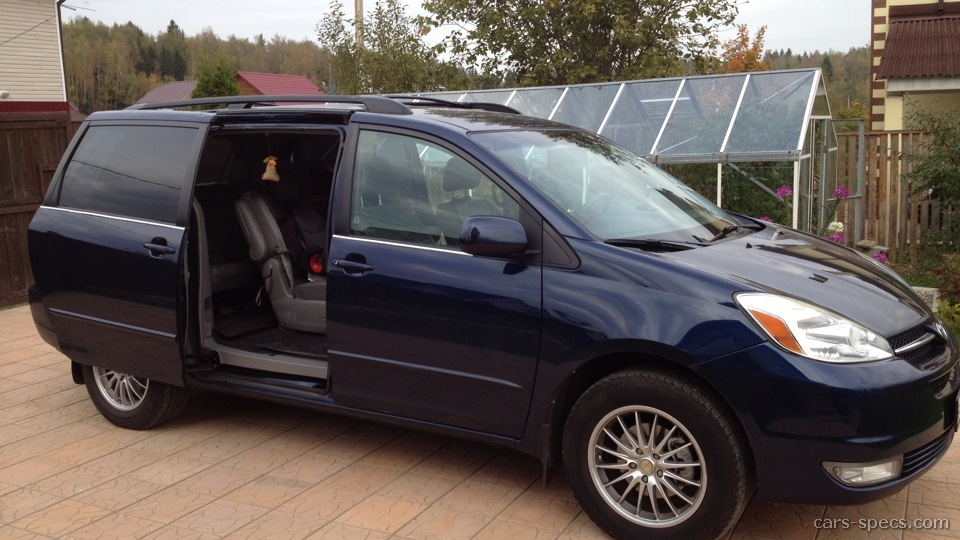 2005 toyota sienna minivan specifications pictures prices. Black Bedroom Furniture Sets. Home Design Ideas