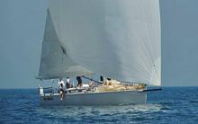 J/133 cruiser-racer sailboat- sailing in Canada