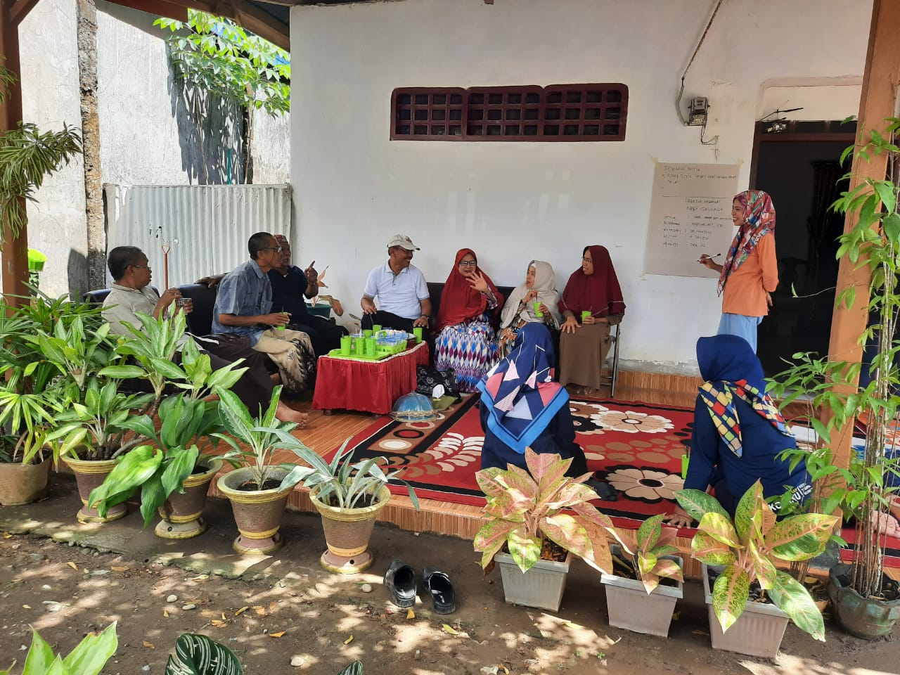 Lurah Biru Fasilitasi Pembentukan KPP Bersama BAM Mattulu Parajo Kelurahan Biru