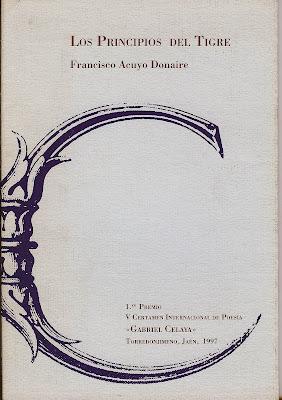 Los principios del tigre, Francisco Acuyo