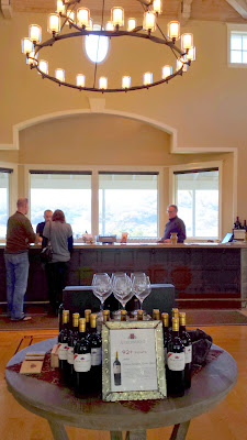 Visiting Arrowood Winery, which offers outstanding Cabernet Sauvignons
