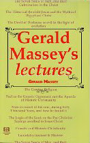 Cover of Gerald Massey's Book Gerald Massey Lectures
