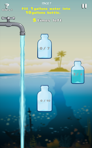 玩免費解謎APP|下載WaterCapacity Brain Puzzle app不用錢|硬是要APP