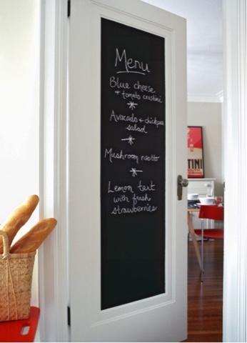 Aux bonnes id es comme au restaurant - Grande ardoise murale restaurant ...