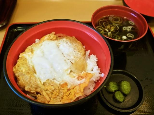 富士そばのカツ丼単品