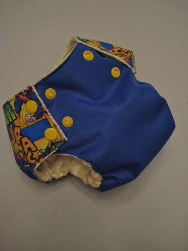 Superman Bumwrap Med LDD Pocket