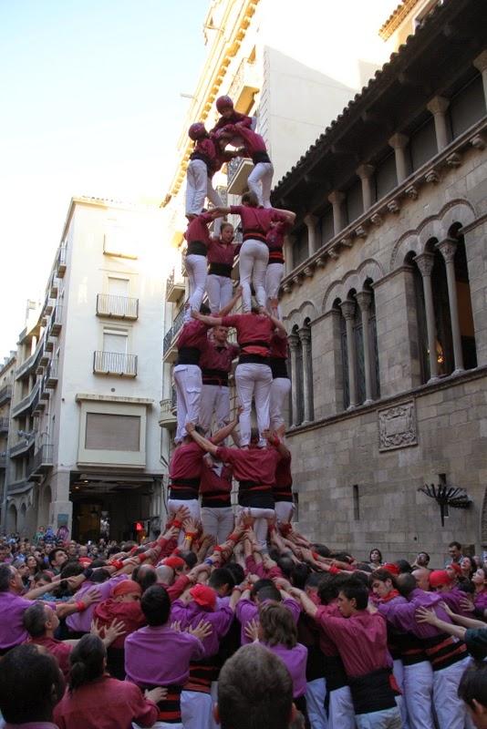 19è Aniversari Castellers de Lleida. Paeria . 5-04-14 - IMG_9524.JPG