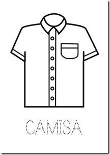 Camisa ropa dibujos colorear pintaryjugar  (14)