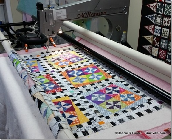A Little Quilting Going On!