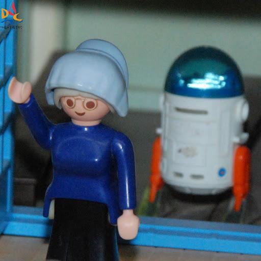Elena Requeni recogió su Playmobil XXL
