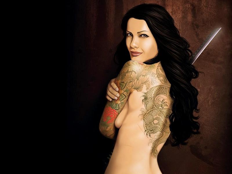 Great Tattoo Beauty, Magic Beauties 2