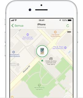 cara melacak iphone yang hilang dicuri menggunakan kode imei