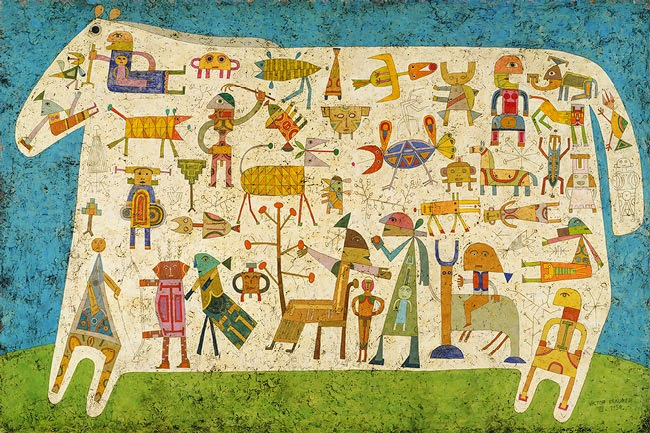 Victor Brauner - Prelude to a Civilization, 1954