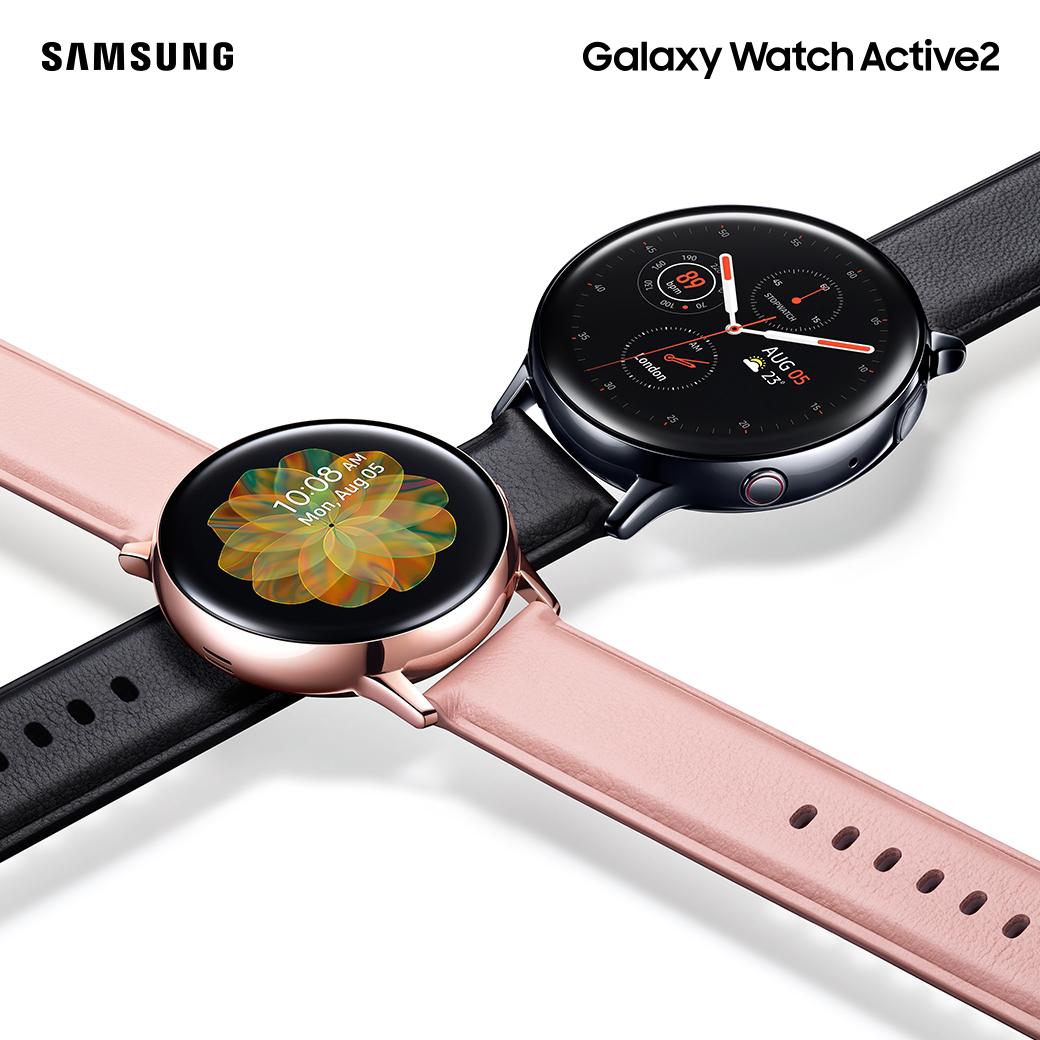 Samsung เปิดตัว Galaxy Watch Active 2 เพื่อนคู่กายในการดูแลสุขภาพพร้อมมอบไลฟ์สไตล์การเชื่อมต่ออย่างแท้จริง