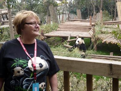 Josephine and the panda