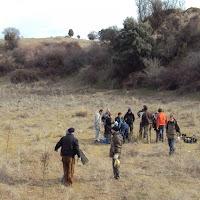 Plantación Arroyo Tejada (junto al 15M de Tres Cantos - 5 de febrero de 2012