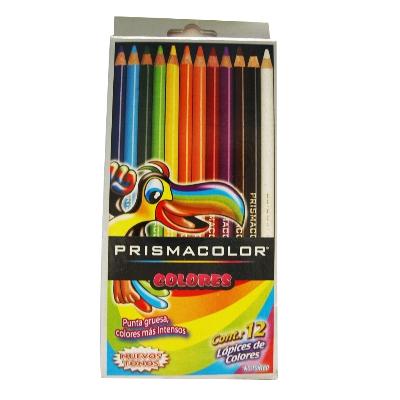 colores prismacolor 12 und