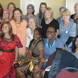 The women trainees after swearing in