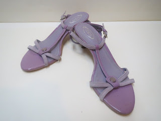 Tod's Purple Sandals