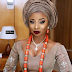 Shaproper Level: Checkout First Photo of singer Mo'Cheddah looking amazing in her traditional wedding attire For her Traditional Wedding Yesterday in Lagos