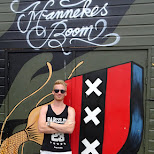 Matt at Hannekes Boom in Amsterdam, Noord Holland, Netherlands