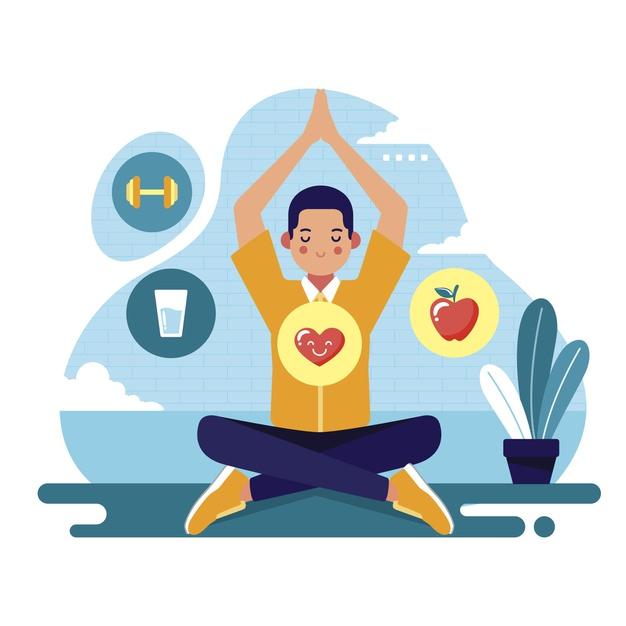 Be health-conscious