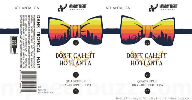Monday Night Adding Don't Call It Hotlanta Cans
