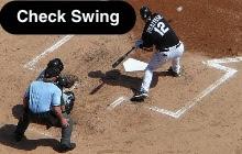 Check Swing (Half Swing)